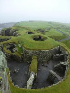 Jarlshof, Scozia: insediamento dell'età del bronzo