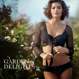 Alyssa Miller - Intimissimi 2014 - Garden of Delights